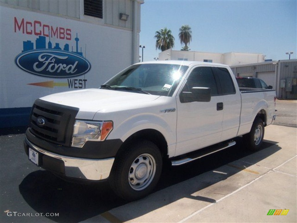 2012 oxford white ford f150 xl supercab 69657614 car color galleries. Black Bedroom Furniture Sets. Home Design Ideas