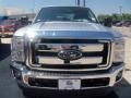 2012 Ingot Silver Metallic Ford F250 Super Duty XLT Crew Cab 4x4  photo #11