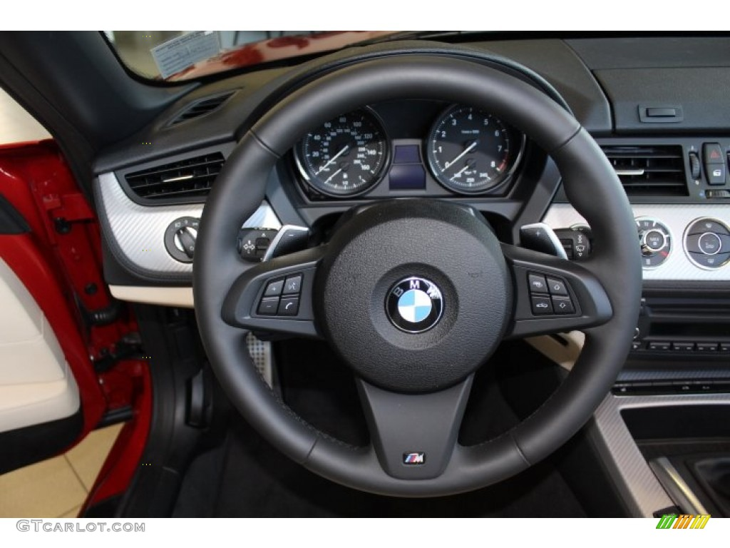 2012 Bmw Z4 Sdrive28i Beige Steering Wheel Photo 69678135