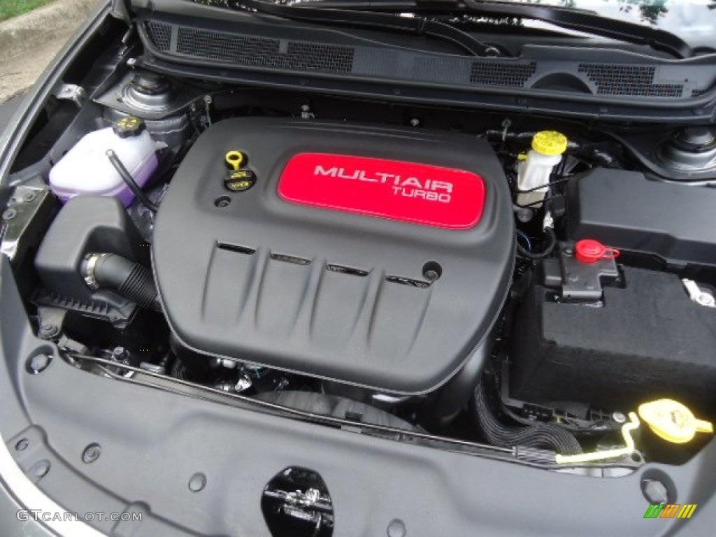 2013 Dodge Dart Limited 1 4 Liter Turbocharged Sohc 16