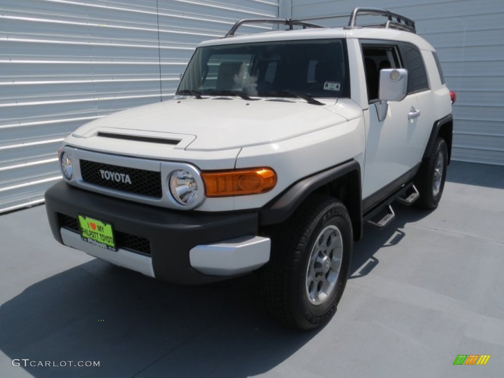 on 2011 toyota fj cruiser trail teams