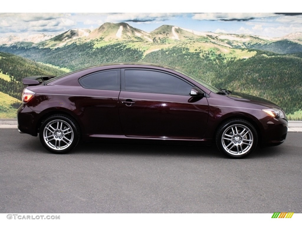 Sizzling Crimson Mica 2009 Scion Tc Standard Tc Model
