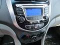 Controls of 2013 Accent GLS 4 Door