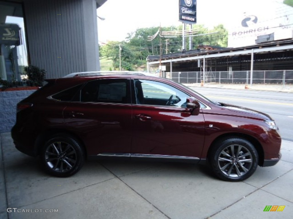 2013 Claret Red Mica Lexus Rx 350 F Sport Awd 69657793 Photo 5 Car Color