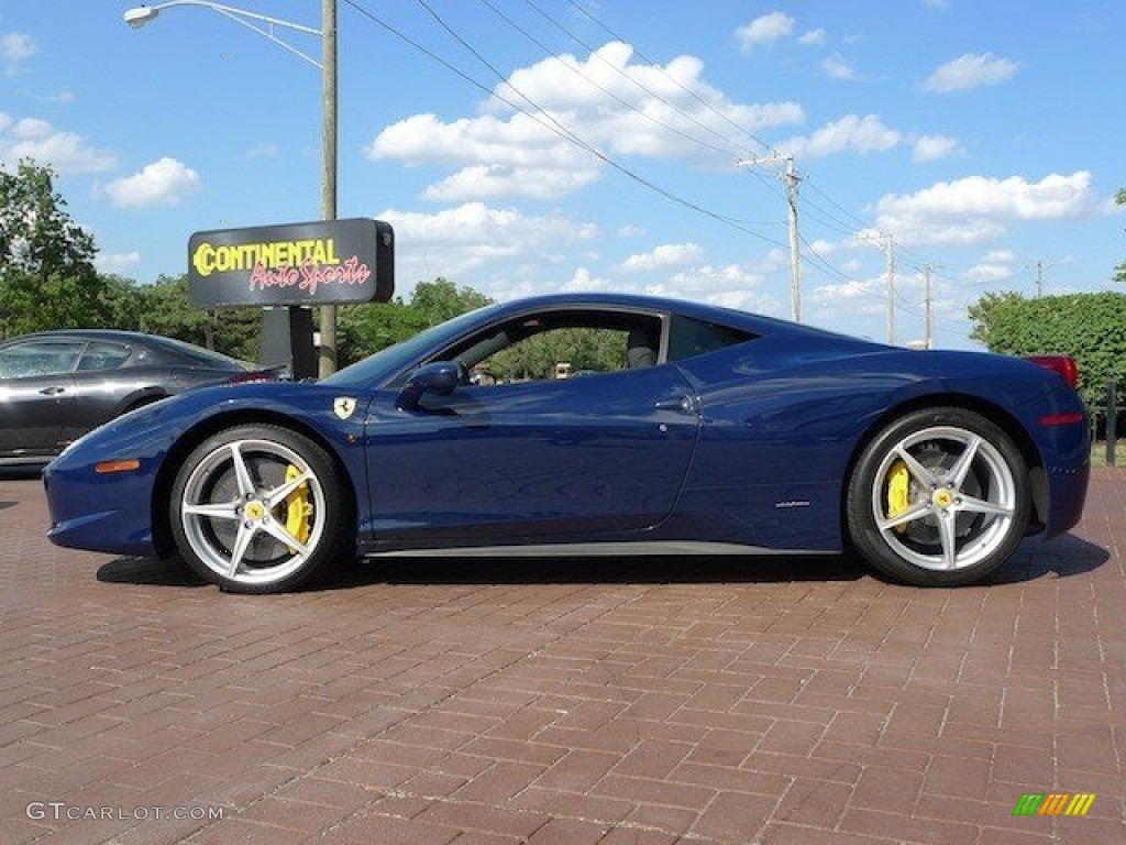 2010 Blue Scozia Dark Blue Ferrari 458 Italia 69656918 Photo 2 Gtcarlot Com Car Color Galleries
