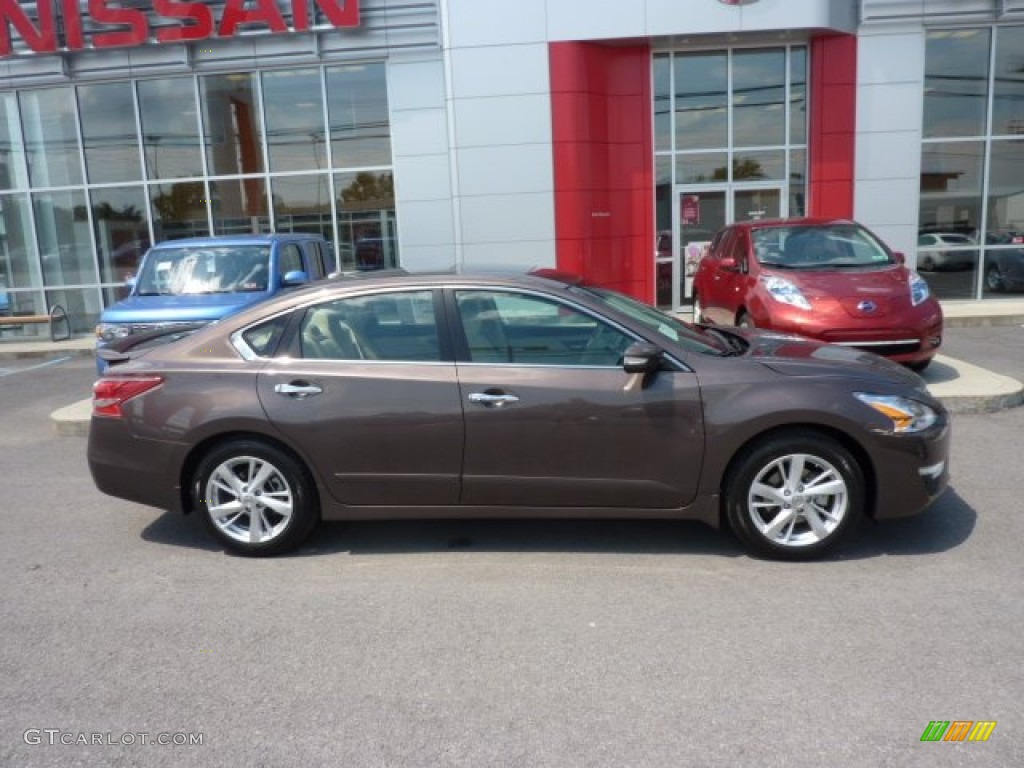 Java Metallic 2013 Nissan Altima 2.5 SV Exterior Photo #69716295