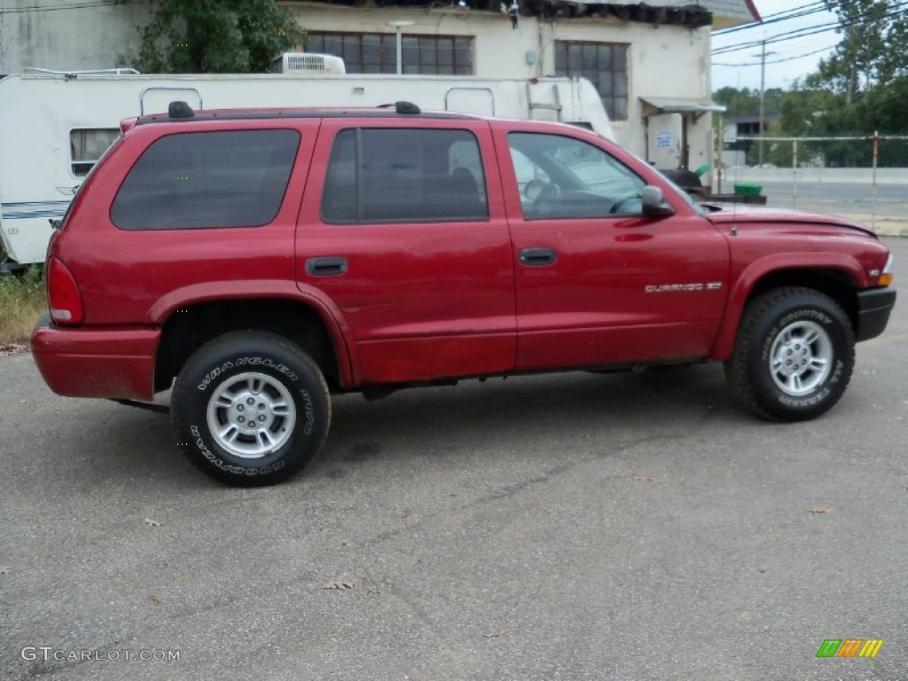 chili pepper red pearlcoat 1999 dodge durango slt 4x4 exterior