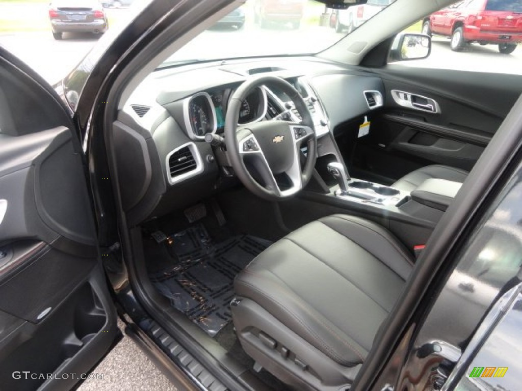 Jet Black Interior 2013 Chevrolet Equinox Ltz Awd Photo 69721665