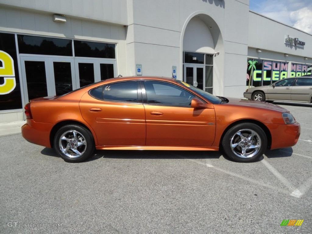 Fusion orange metallic 2004 pontiac grand prix gtp sedan exterior photo 69729733 gtcarlot com