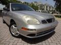 Poly Silver Metallic 2002 Daewoo Nubira SE Sedan