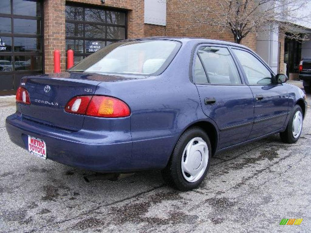 1999 twilight blue pearl toyota corolla ce 6954393 photo 3 gtcarlot com car color galleries gtcarlot com