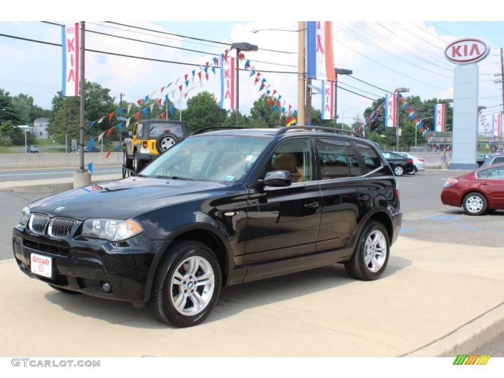 2006 black sapphire metallic bmw x3 69728350 car color galleries. Black Bedroom Furniture Sets. Home Design Ideas