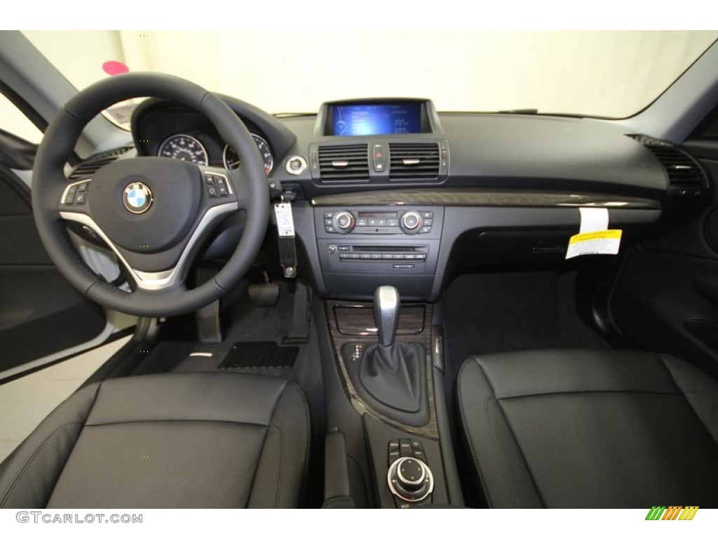2013 Bmw 1 Series 128i Coupe Black Dashboard Photo