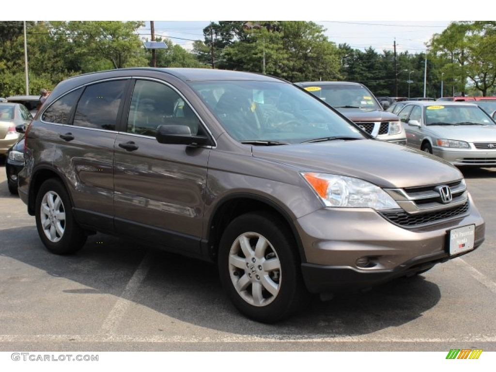 2011 CR-V SE 4WD - Urban Titanium Metallic / Black photo #3