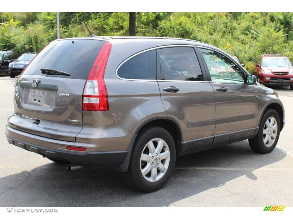 2011 CR-V SE 4WD - Urban Titanium Metallic / Black photo #5