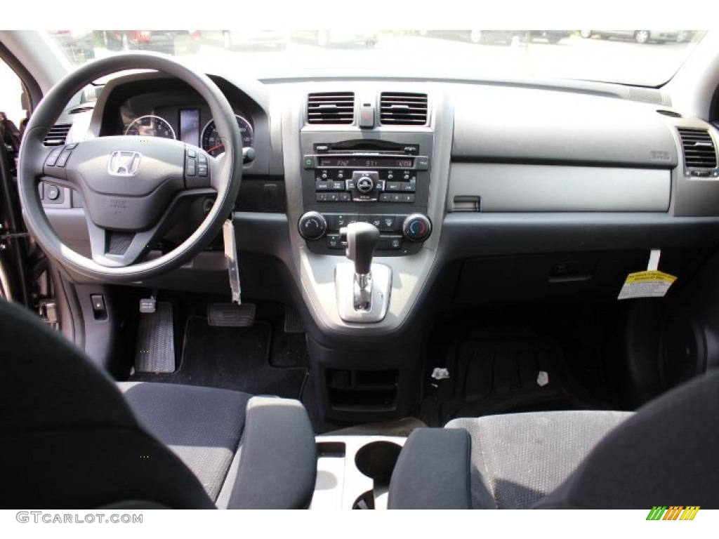 2011 CR-V SE 4WD - Urban Titanium Metallic / Black photo #12