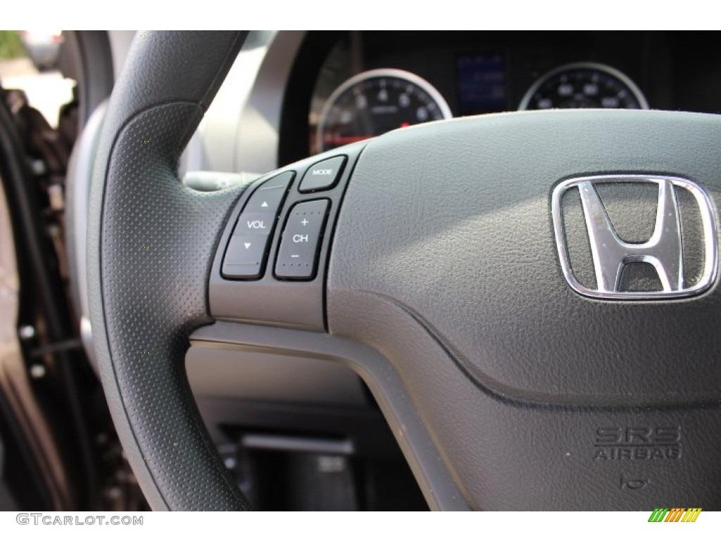 2011 CR-V SE 4WD - Urban Titanium Metallic / Black photo #16