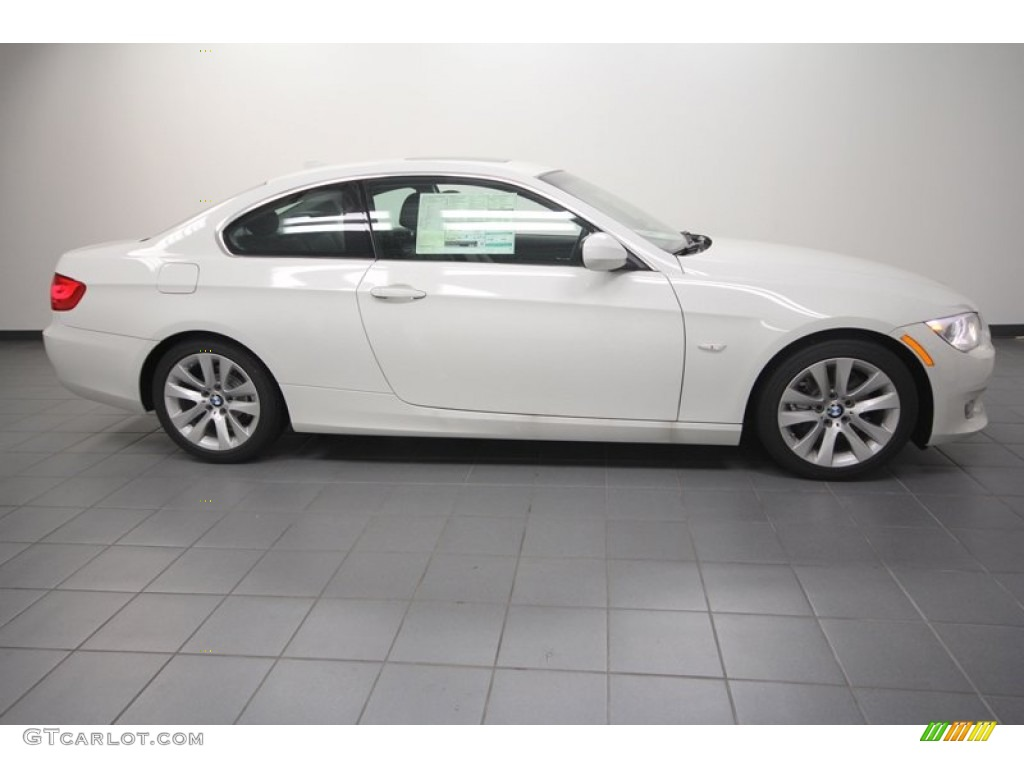 alpine white 2013 bmw 3 series 328i coupe exterior photo. Black Bedroom Furniture Sets. Home Design Ideas