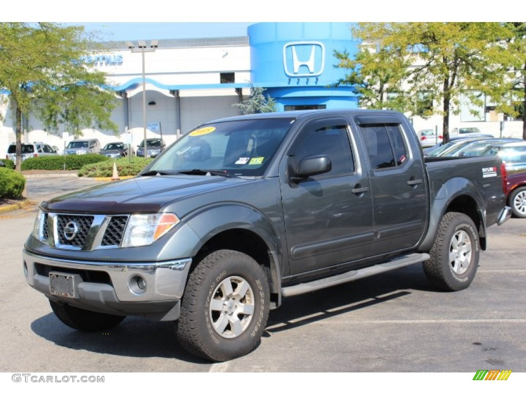 2005 storm gray metallic nissan frontier nismo crew cab. Black Bedroom Furniture Sets. Home Design Ideas