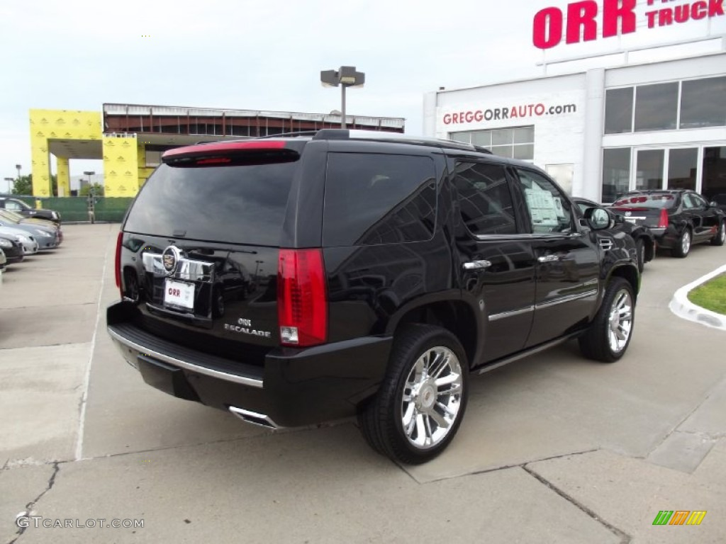 2013 Escalade Platinum AWD - Black Raven / Ebony photo #3