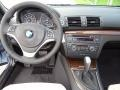 2013 BMW 1 Series Oyster Interior Dashboard Photo