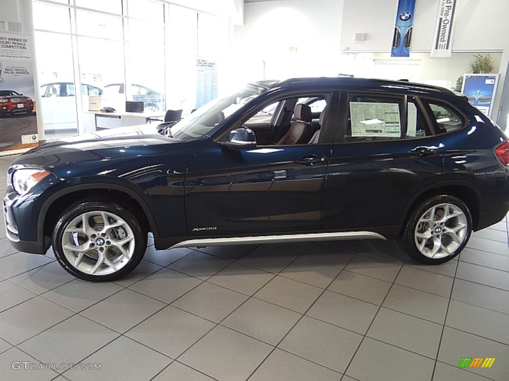 2013 Midnight Blue Metallic Bmw X1 Xdrive 35i 69727897