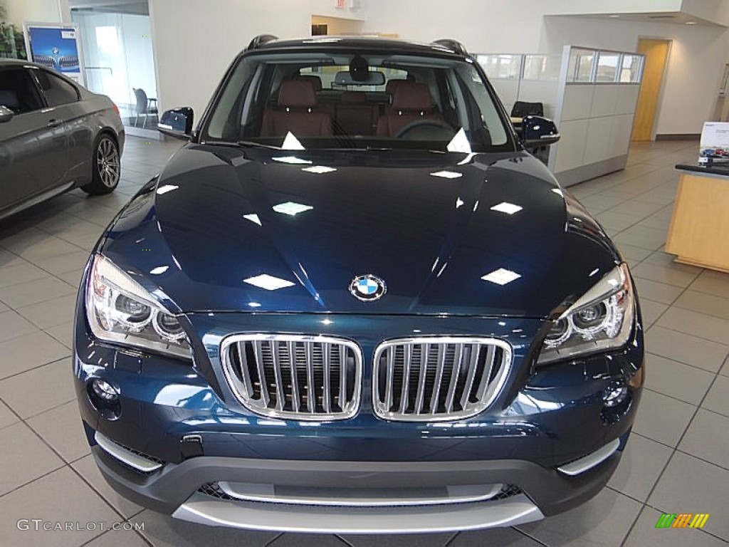 Midnight Blue Metallic 2013 Bmw X1 Xdrive 35i Exterior