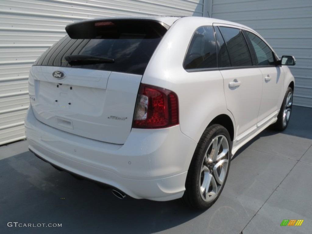 White platinum tri coat 2013 ford edge sport exterior photo 69778499