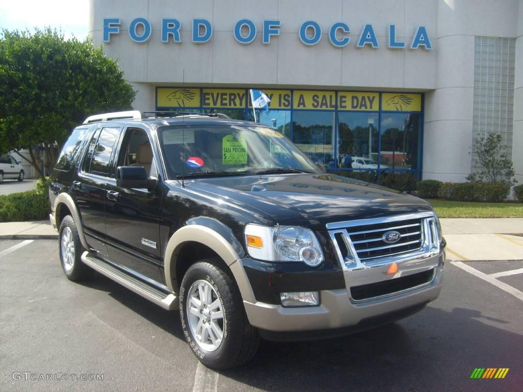2006 Black Ford Explorer Eddie Bauer 544281 Car Color Galle