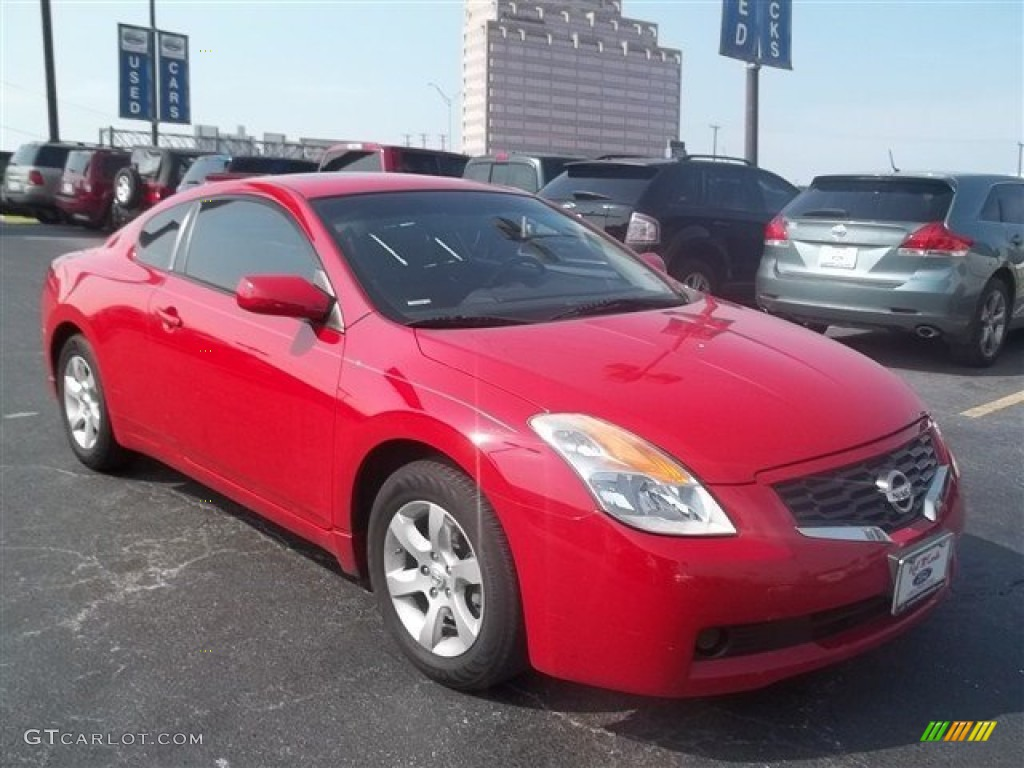 2009 code red metallic nissan altima 2 5 s coupe 69791727 car color galleries. Black Bedroom Furniture Sets. Home Design Ideas