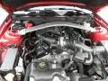 2011 Red Candy Metallic Ford Mustang V6 Premium Convertible  photo #14