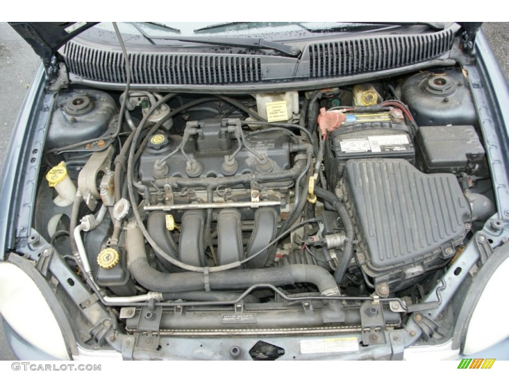 2002 Dodge Neon Standard Neon Model Engine Photos ...