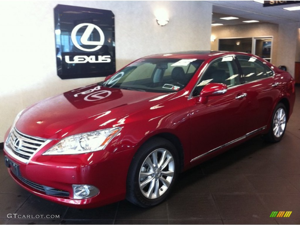 2011 matador red mica lexus es 350 69792174 photo 3 car color galleries. Black Bedroom Furniture Sets. Home Design Ideas
