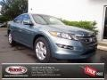 2012 Opal Sage Metallic Honda Accord Crosstour EX-L #69791631