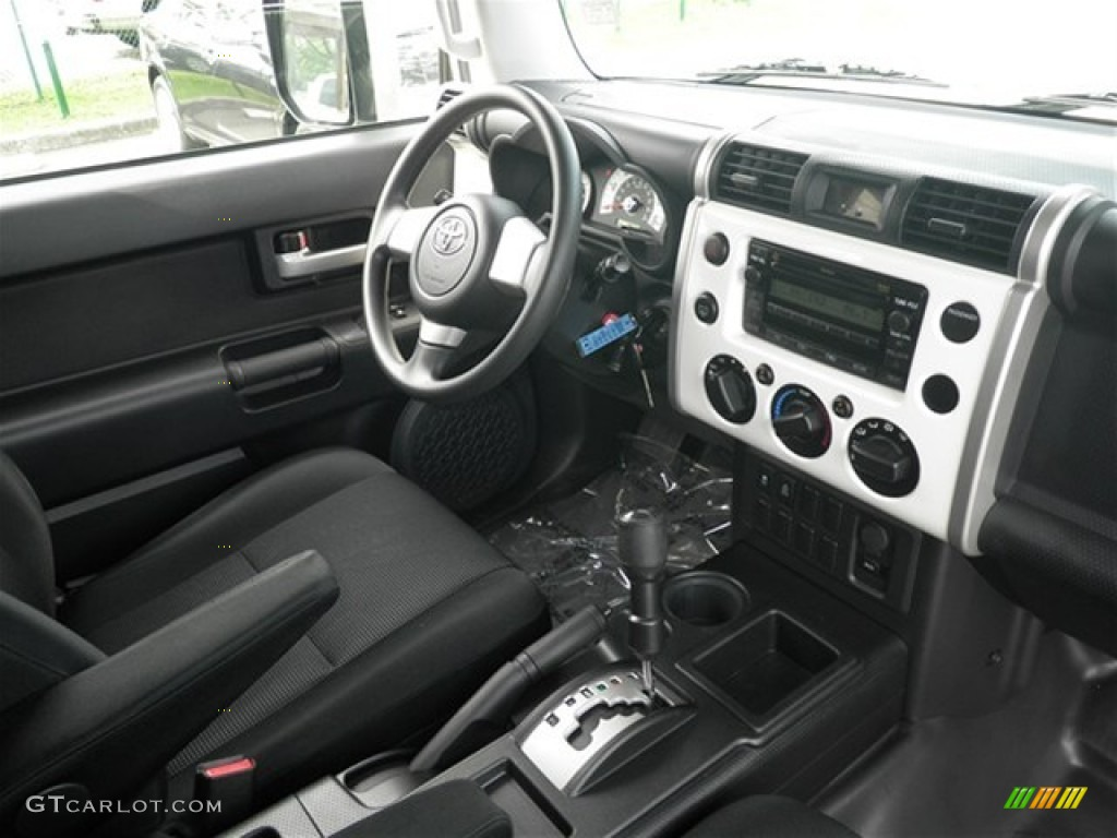 Dark Charcoal Interior 2010 Toyota FJ Cruiser TRD Photo #69819670