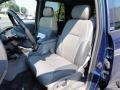 Light Pewter 2002 Chevrolet TrailBlazer Interiors