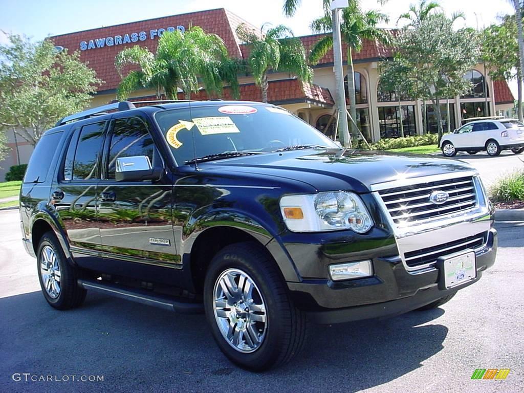 2006 Black Ford Explorer Limited 544242 Car Color Galleries