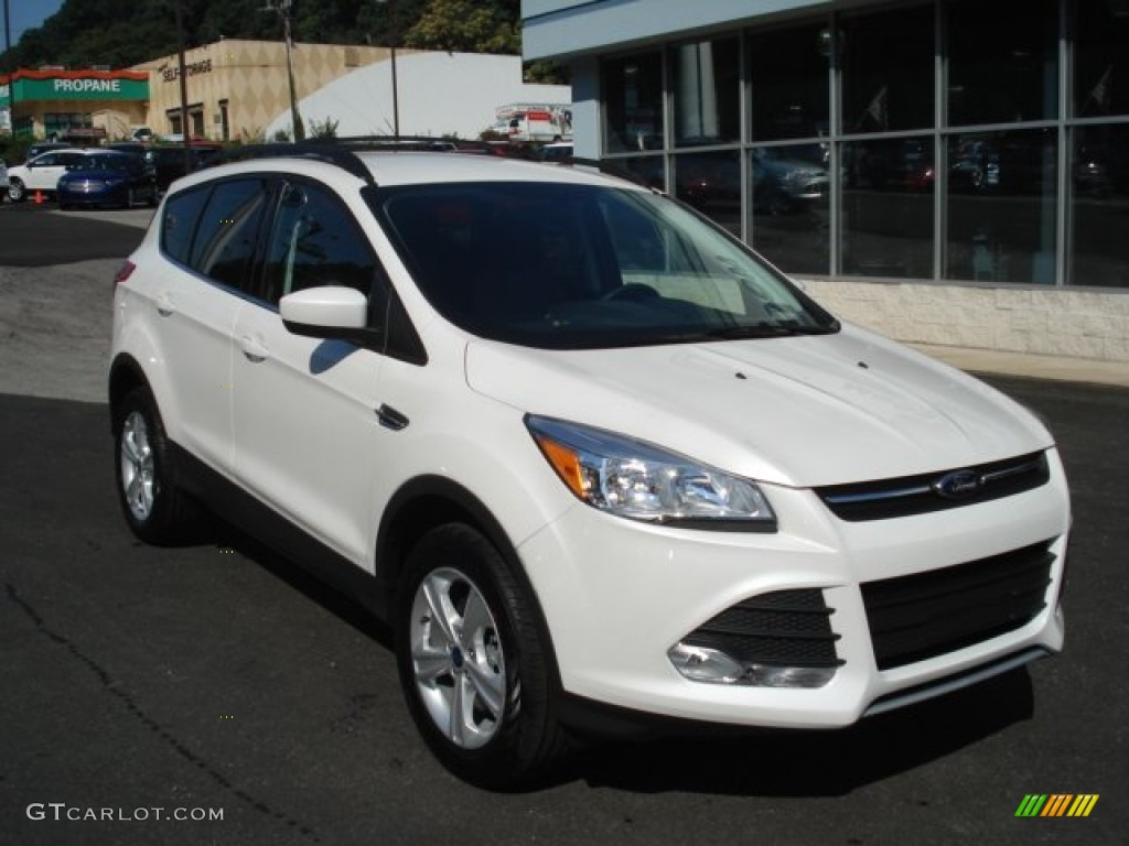 white platinum metallic tri coat 2013 ford escape se 1 6l ecoboost 4wd exterior photo 69823789. Black Bedroom Furniture Sets. Home Design Ideas