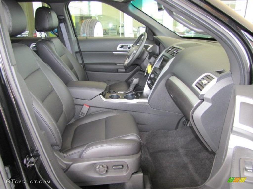 Charcoal Black Interior 2013 Ford Explorer XLT Photo ...