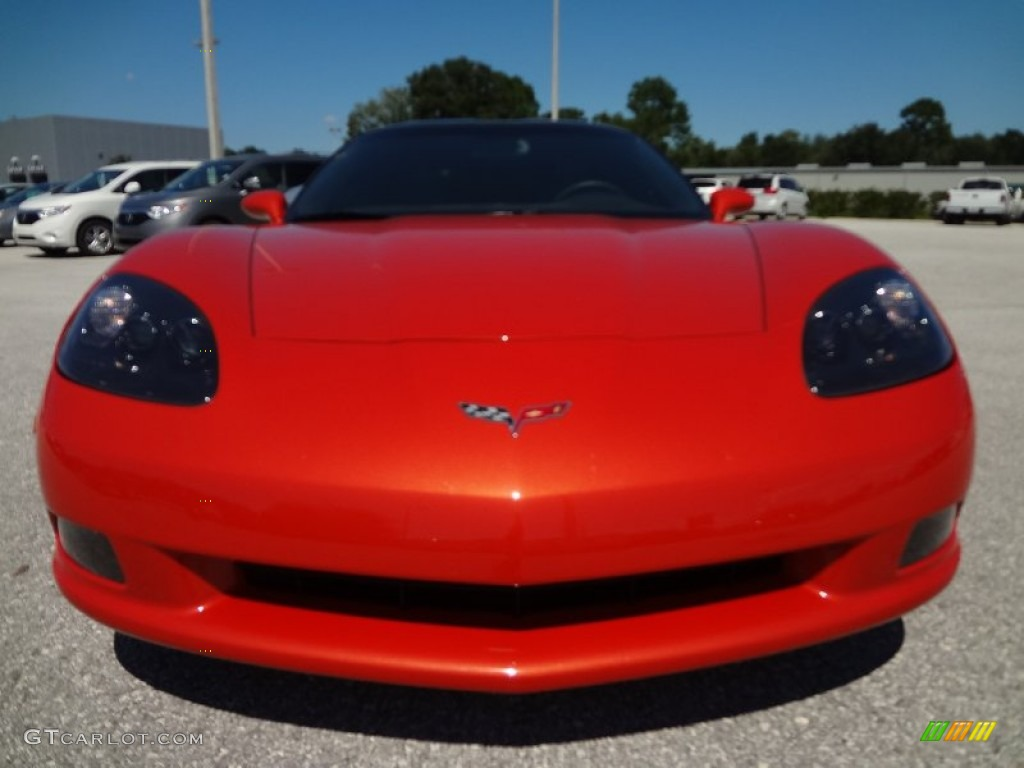 Inferno orange metallic 2011 chevrolet corvette coupe exterior photo 69842256 gtcarlot com