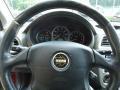 2003 Subaru Impreza Black Interior Steering Wheel Photo