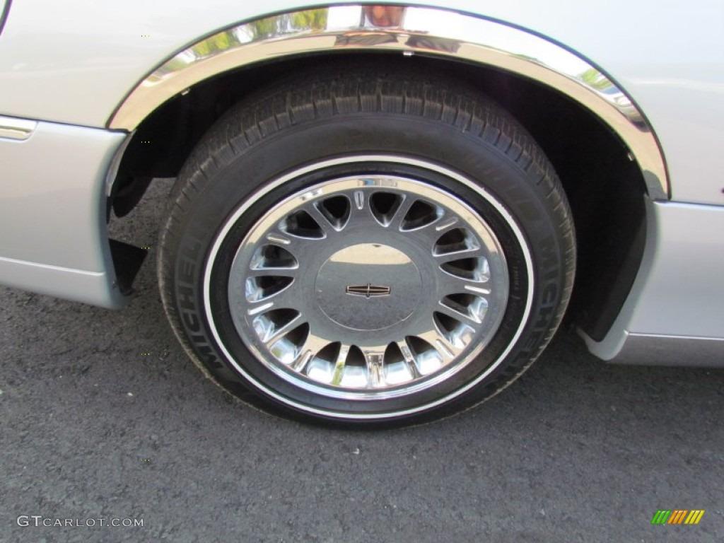 2002 Lincoln Town Car Cartier Wheel Photo 69843577 Gtcarlot Com