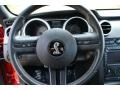 2008 Ford Mustang Charcoal Black Interior Steering Wheel Photo