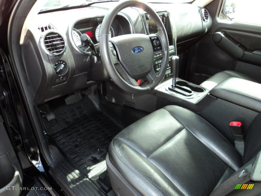 Adrenalin Charcoal Black Interior 2010 Ford Explorer Sport Trac Adrenalin Photo 69848932
