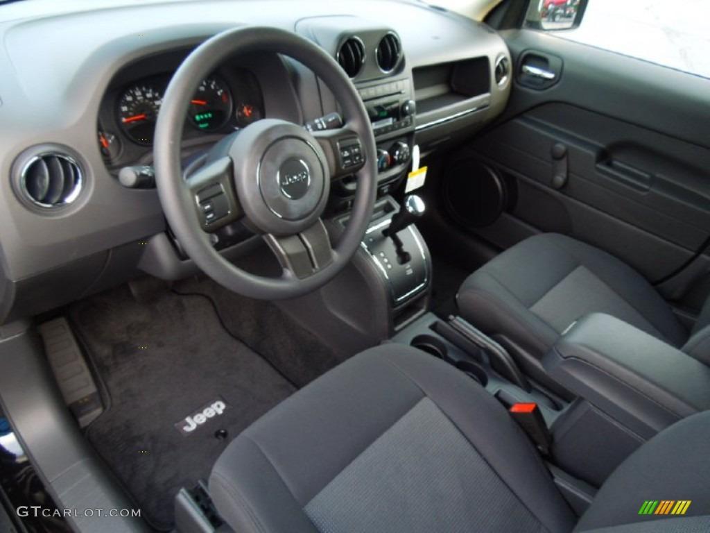 Dark Slate Gray Interior 2013 Jeep Patriot Sport Photo