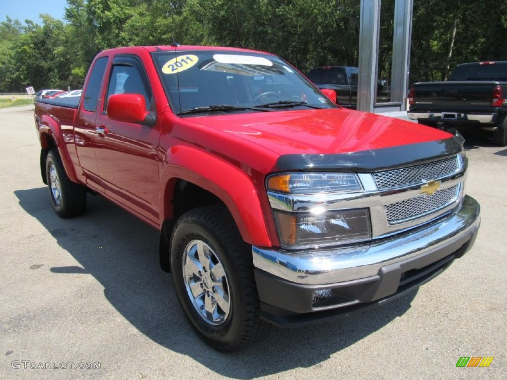 victory red 2011 chevrolet colorado lt extended cab 4x4. Black Bedroom Furniture Sets. Home Design Ideas