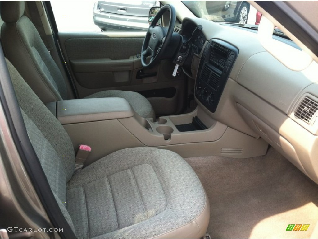 Medium Parchment Beige Interior 2003 Ford Explorer XLS 4x4 Photo #69859390