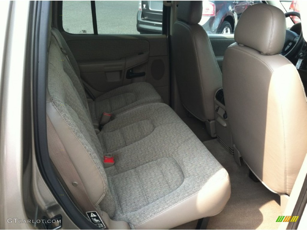 2003 Ford Explorer XLS 4x4 Rear Seat Photo #69859399