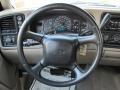 2001 Chevrolet Silverado 1500 Tan Interior Steering Wheel Photo