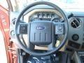 2012 Autumn Red Metallic Ford F250 Super Duty XLT Crew Cab 4x4  photo #17